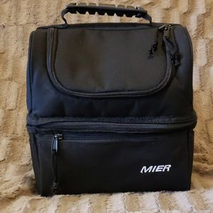 Mier Adult Insulated Double Deck Lunch Box
